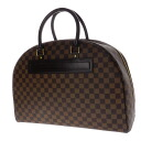 Authentic LOUIS VUITTON  Nolita N41455 Boston bag Damier canvas