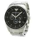 Authentic Emporio Armani AR0585 Watch Stainless  Quartz Men