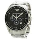 Authentic Emporio Armani AR0585 Watch Stainless  Quartz Men