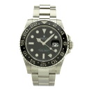 Authentic ROLEX 116710 LN Date GMT Master 2 Watch Stainless  an automatic Men