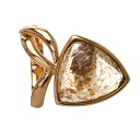 Quartz Ring 18K pink gold  7.8