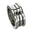 Authentic BVLGARI  B-zero1 S Ring 18K White Gold
