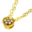 SELECT JEWELRY diamond necklace K24 yellow gold Lady's fs04gm