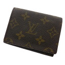 Authentic LOUIS VUITTON  An'vu~eroppu Cult de Vijitt M62920 Card Case Monogram canvas
