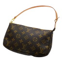 Authentic LOUIS VUITTON  Pochette Accessoires M51979 Accessory pouch Monogram canvas