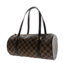 Authentic LOUIS VUITTON  N51303 Damier Papillon Handbag Damier canvas