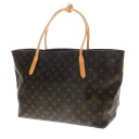 Authentic LOUIS VUITTON  Raspail MM M40607 Tote Bag Monogram canvas