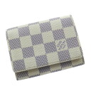LOUIS VUITTON アンヴェロップ カルトドゥヴィジット N61746 card Kay Mie Suda canvas unisex fs04gm