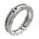 BVLGARI B-zero1 X ring, ring K18 white gold Lady's fs04gm