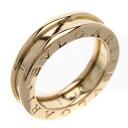 BVLGARI B-zero1 X ring, ring K18 pink gold Lady's fs04gm