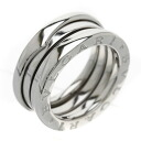 BVLGARI B-zero1 S ring, ring K18 white gold Lady's fs04gm