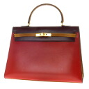 SELECT BAG trapezoid handbag leather Lady's fs04gm