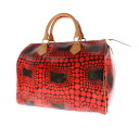 Authentic LOUIS VUITTON  Speedy 30 Yayoi Kusama M40693 Handbag Monogram canvas