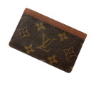 Authentic LOUIS VUITTON  Porto cult · Simple M61733 Card Case Monogram canvas