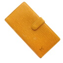 Authentic LOUIS VUITTON  Continental Viejo Nowa (With Coin Pocket) Long Wallet Epi