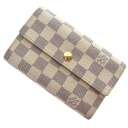 Authentic LOUIS VUITTON  Portefeiulle · Alexandra N63068 (With Coin Pocket) Long Wallet Damier canvas