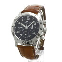 Authentic Breguet Aeronabaru Watch Stainless Leather an automatic Men