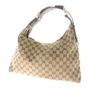 Authentic GUCCI  GG Handbag Canvas