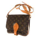 Authentic LOUIS VUITTON  Cartouchiere21 M51252 Shoulder Bag Monogram canvas