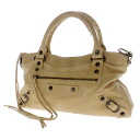 Authentic BALENCIAGA  The First Handbag Leather
