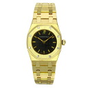 Authentic AUDEMARS PIGUET Royal Oak Watch 18K yellow gold  Quartz Women
