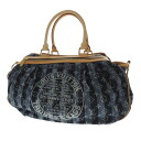 Authentic LOUIS VUITTON  Kabareie GM Handbag Denim