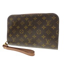 Authentic LOUIS VUITTON  Orsay M51790 Second bag Monogram canvas