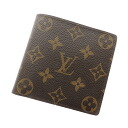 Authentic LOUIS VUITTON  Portefeiulle · Marco Bifold Wallet with Coin Pocket Monogram
