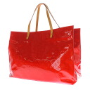 Authentic LOUIS VUITTON  Lead GM M91084 Tote Bag Monogram Vernis
