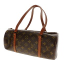 Authentic LOUIS VUITTON  M51385 old Papillon Handbag Monogram canvas