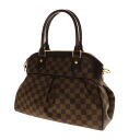 Authentic LOUIS VUITTON  Trevi PM N51997 Handbag Damier canvas