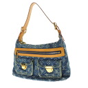 Authentic LOUIS VUITTON  Buggy PM M95049 Shoulder Bag Monogram denim