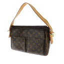 Authentic LOUIS VUITTON  Viva Cite GM M51163 Shoulder Bag Monogram canvas