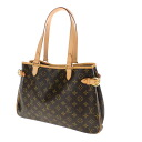 Authentic LOUIS VUITTON  Orison barrel Batignolles M51154 Shoulder Bag Monogram canvas