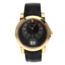 Authentic HARRY WINSTON Midnight Big Date Watch 18K pink gold Leather an automatic Men
