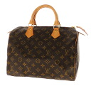 Authentic LOUIS VUITTON  Speedy 30 N41526 Handbag Monogram canvas