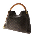 Authentic LOUIS VUITTON  ArtsyMM M40249 Handbag Monogram canvas