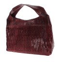 Authentic SELECT BAG  Embossing Handbag Leather