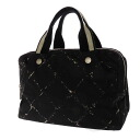 Authentic CHANEL  Travel Line Tote Bag Nylon material