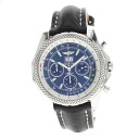 Authentic BREITLING Bentley 6.75 A44362 Watch Stainless Leather an automatic Men