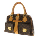 Authentic LOUIS VUITTON  Manhattan GM M40025 Handbag Monogram canvas