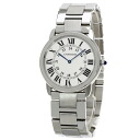 Authentic CARTIER Ronde Solo de Cartier LM Watch Stainless  Quartz Men