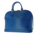 Authentic LOUIS VUITTON  Alma M52145 Handbag Epi Leather