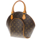 Authentic LOUIS VUITTON  Ellipse PM M51127 Handbag Monogram canvas