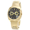 Authentic Paul Smith   Watch Gold Plated  Quartz Men