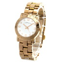 Authentic MARC BY MARC JACOBS MBM3078 Watch Gold Plated  Quartz Women