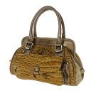 Authentic SELECT BAG  Crocodile pattern Handbag Nylon material