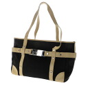 Authentic BVLGARI  Logo plate design Tote Bag Leather x canvas