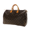Authentic LOUIS VUITTON  Speedy 40 M41522 Boston bag Monogram canvas