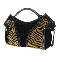 Authentic SELECT BAG  Animal pattern Handbag Synthetic leather
